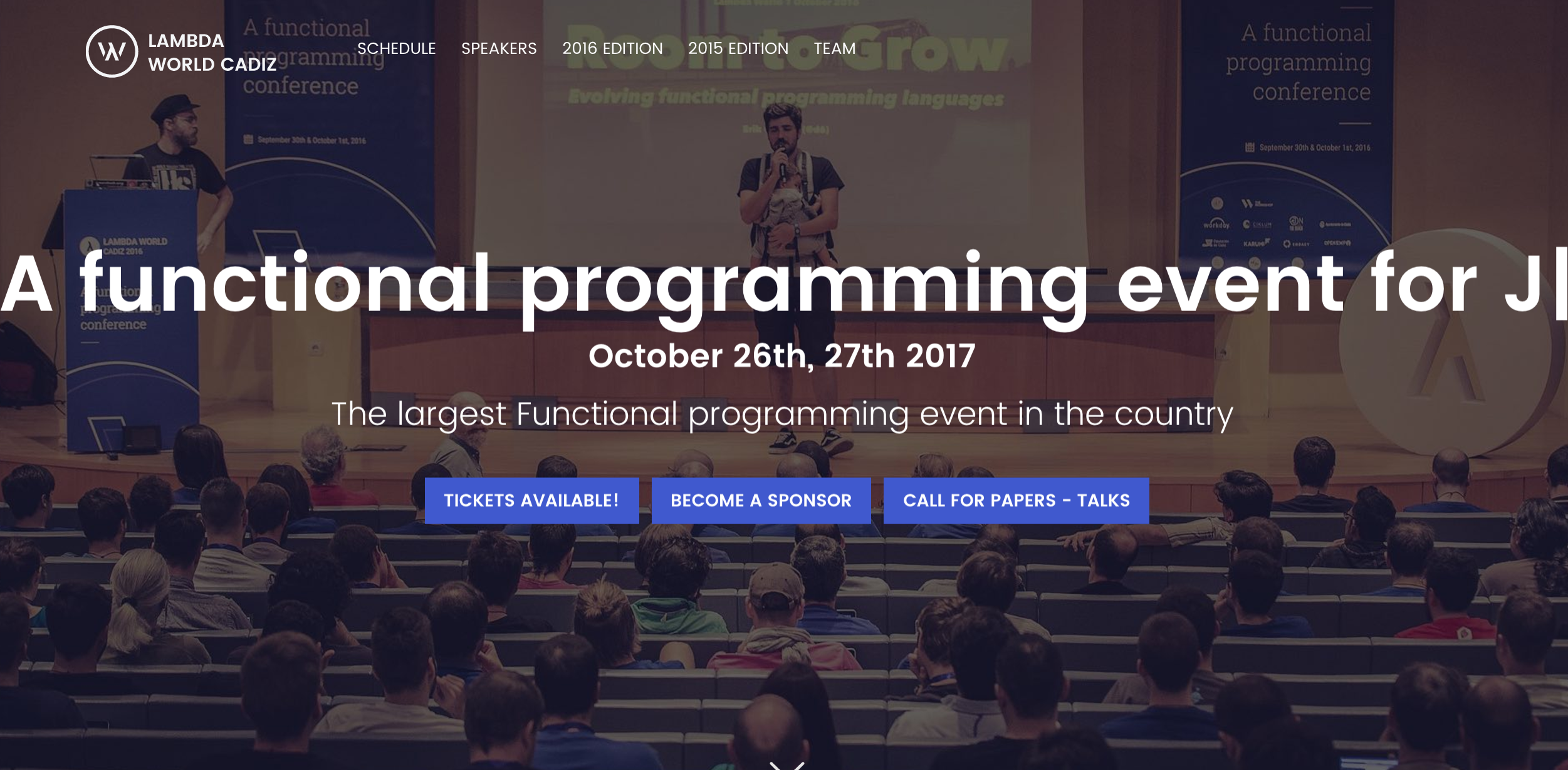 Becoming a functional programmer thanks to Lambda World