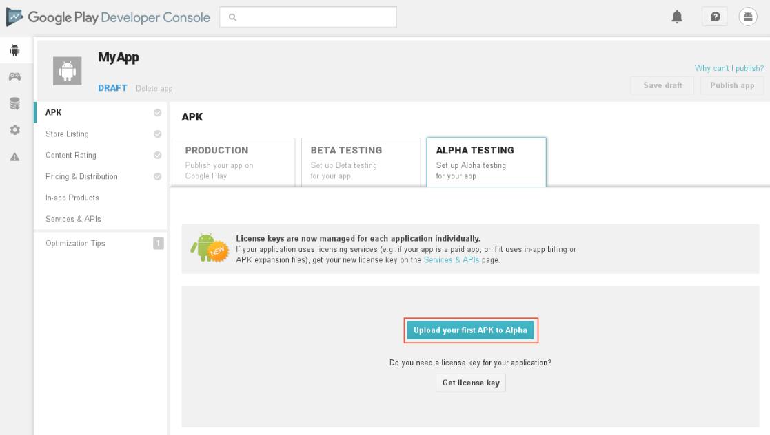 Publish a PWA (Progressive Web App) in the Google Play Store