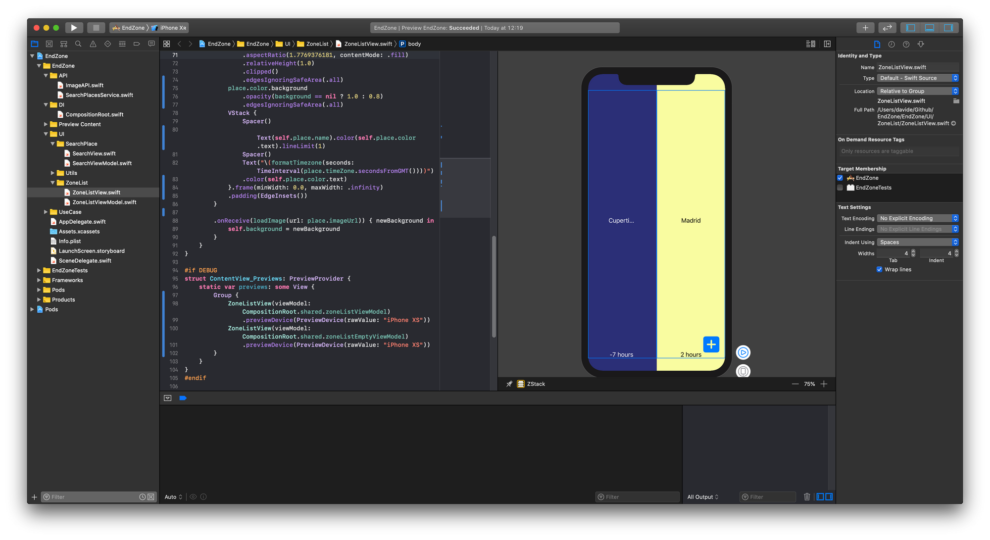 Interface Builder Is Dead Long Live SwiftUI